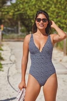 Plunge Shape Enhancing Swimsuit