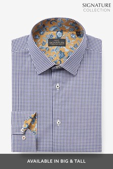 Signature Gingham Trimmed Shirt