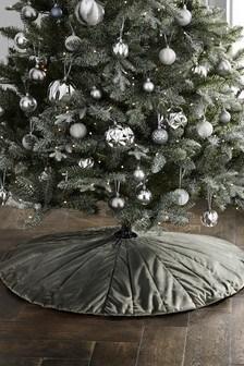 Velvet Tree Skirt (866270)   $35