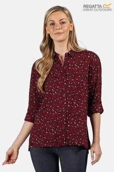 חולצתMeera Coolweave סגולה שלRegatta