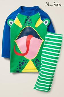 Boden Green Surf Suit