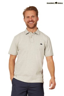 Raging Bull Grey Signature Jersey Polo