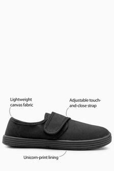 Парусиновые туфли с ремешком (Подростки)