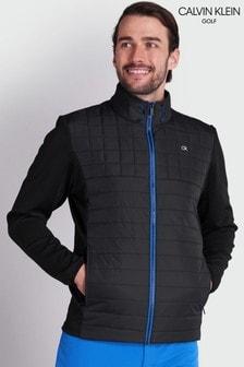Calvin Klein Golf Black Vardon Hybrid Jacket