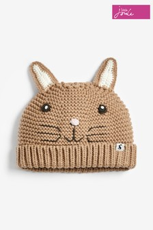 Joules Brown Rabbit Hat