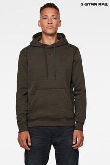 G-Star Grey Premium Core Hooded Sweatshirt