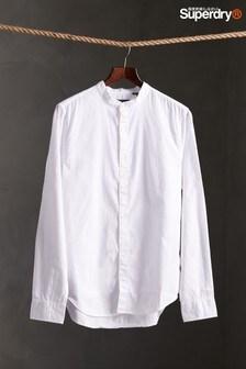 Superdry White Grandad Shirt