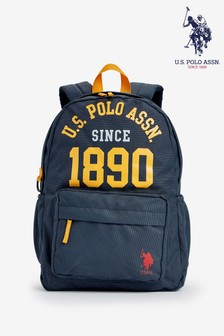 U.S. Polo Assn. Navy Arched 1890 Backpack