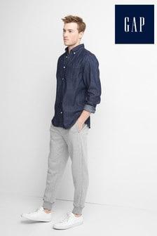 Szare spodnie dresowe z logo Gap Modern