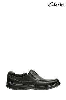 Clarks Black Oily Lea Cotrell Free Shoes