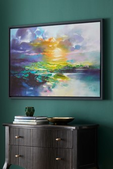 Scott Naismith 'Sunset Glare' Canvas Art