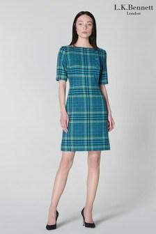 שמלתטווידדגם Aimee שלL.K.Bennett