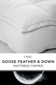 Goose Feather And Down Mattress Topper