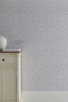 Paste The Paper Mirror Leaf Wallpaper