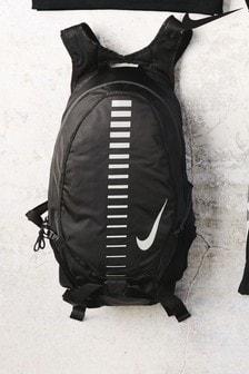Nike Run Rucksack, Schwarz