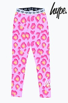 Hype. Leopard Print Leggings