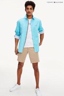 Tommy Hilfiger Brown Brooklyn Twill Shorts