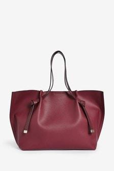 Knot Detail Shopper Bag