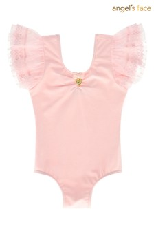 Angel's Face Pink Misty Leotard