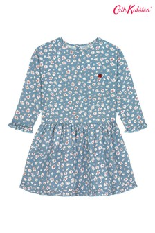 Cath Kidston® Washed Ditsy LS Dress