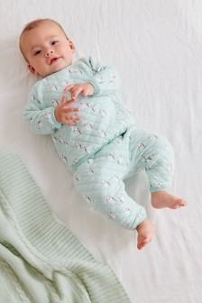 Koala Quilted Sweatshirt And Jogger Set (0mths-2yrs)
