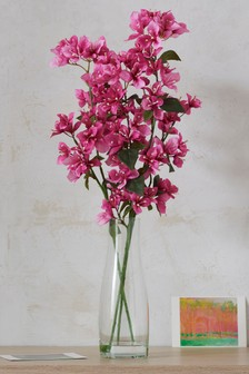 Artificial Bougainvillea In Vase