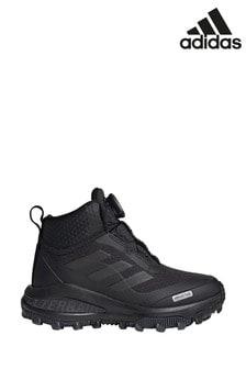 Черные кроссовки для детей и подростковadidas Traim FortaBoa