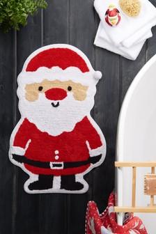 Santa Shaped Bath Mat