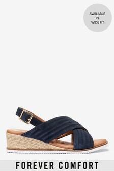 Forever Comfort®菱格楔形鞋