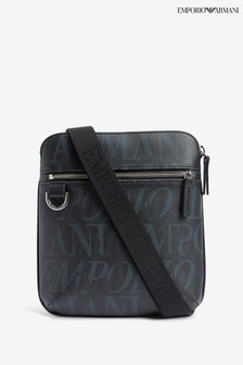 Emporio Armani Black Multi Cross Body Bag
