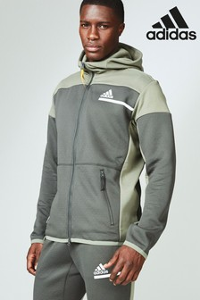 adidas Khaki ZNE Aero RDY Hoody