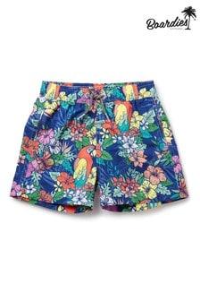 מכנסי שחייה קצרים באורך בינוני של Boardies דגם Boys Jungle