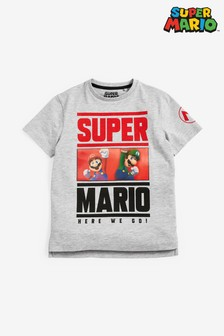 Super Mario Lenticular T-Shirt (3-16yrs)
