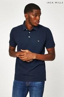 Jack Wills Navy Aldgrove Polo Shirt