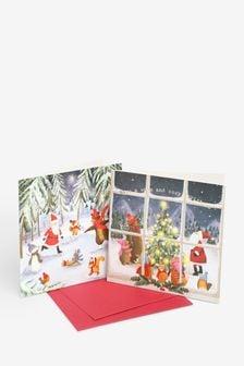 Lot de 20 cartes de Noël de charité
