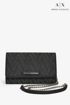 Armani Exchange Black Cross Body Bag