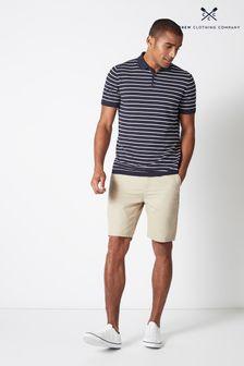 Crew Clothing Bermudashorts, Creme