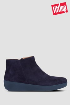 FitFlop™ Blue Sumi Ankle Boots