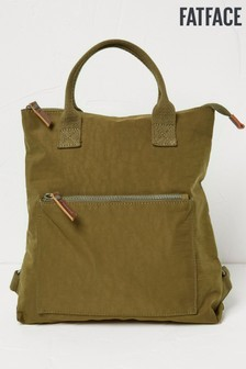 FatFace Khaki Nylon Backpack