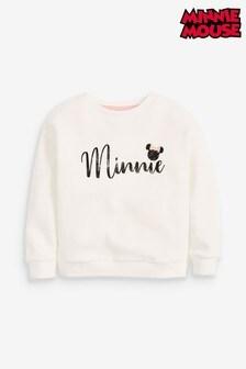 Disney™ Minnie Mouse™ Lizenziertes Top mitRundhalsausschnitt (3-16yrs)