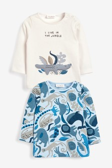 2 Pack Crocodile T-Shirts (0mths-3yrs)