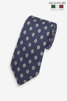 Signature 'Made In Italy' Floral Tie