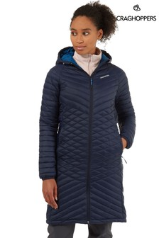 Синяя удлиненная куртка CraghoppersExpolite