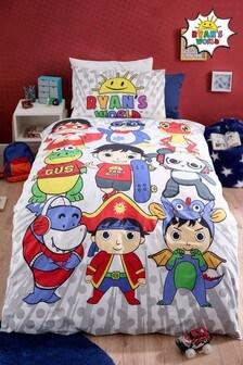 Ryan's World™ Bettbezug und Kissenbezug