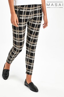 Masai Black Parissi Capri Trousers