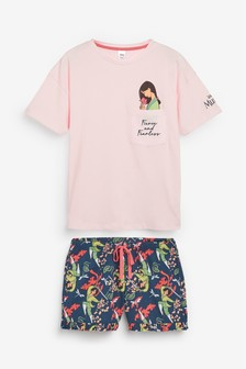 Disney™ Mulan Short Pyjamas Set