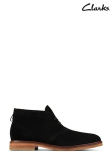 Clarks Black Clarkdale Boots