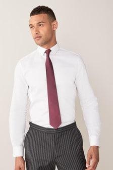 Strukturiertes Hemd aus Baumwolle