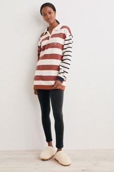 Cotton Blend Rugby Legging Pyjamas (881995)   $47