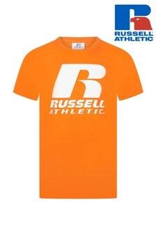 קפוצ׳ון עם לוגו שלRussell Athletics
